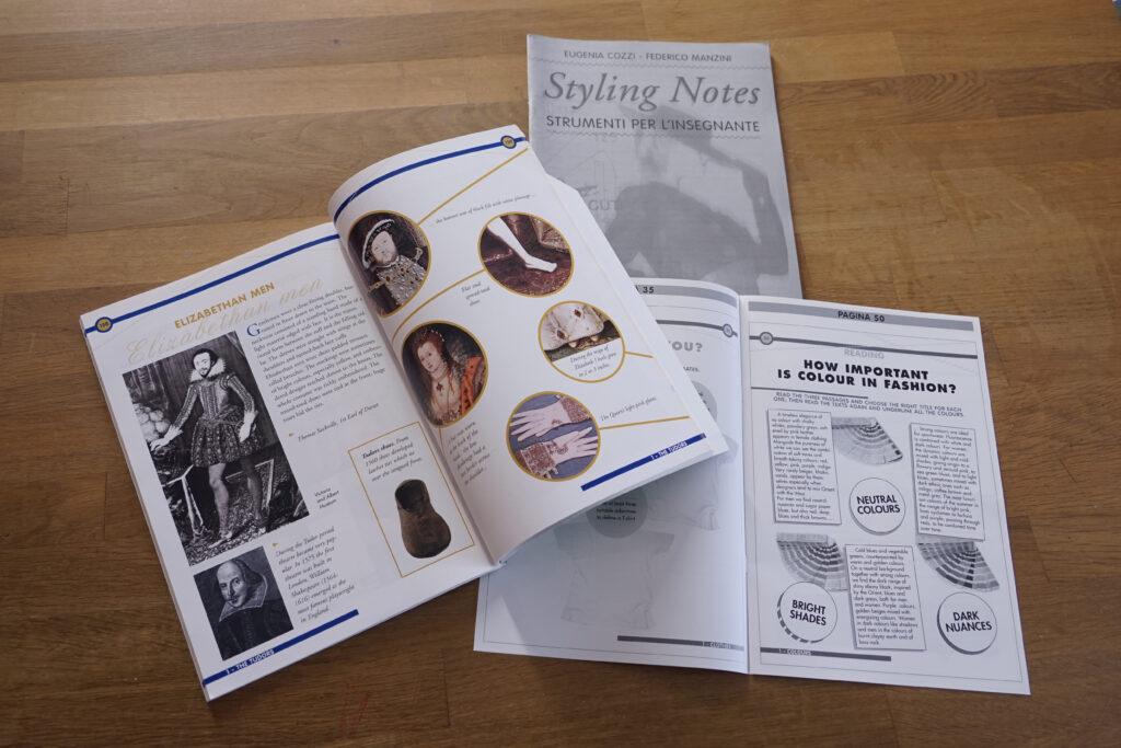 volumi di inglese dedicati alla moda