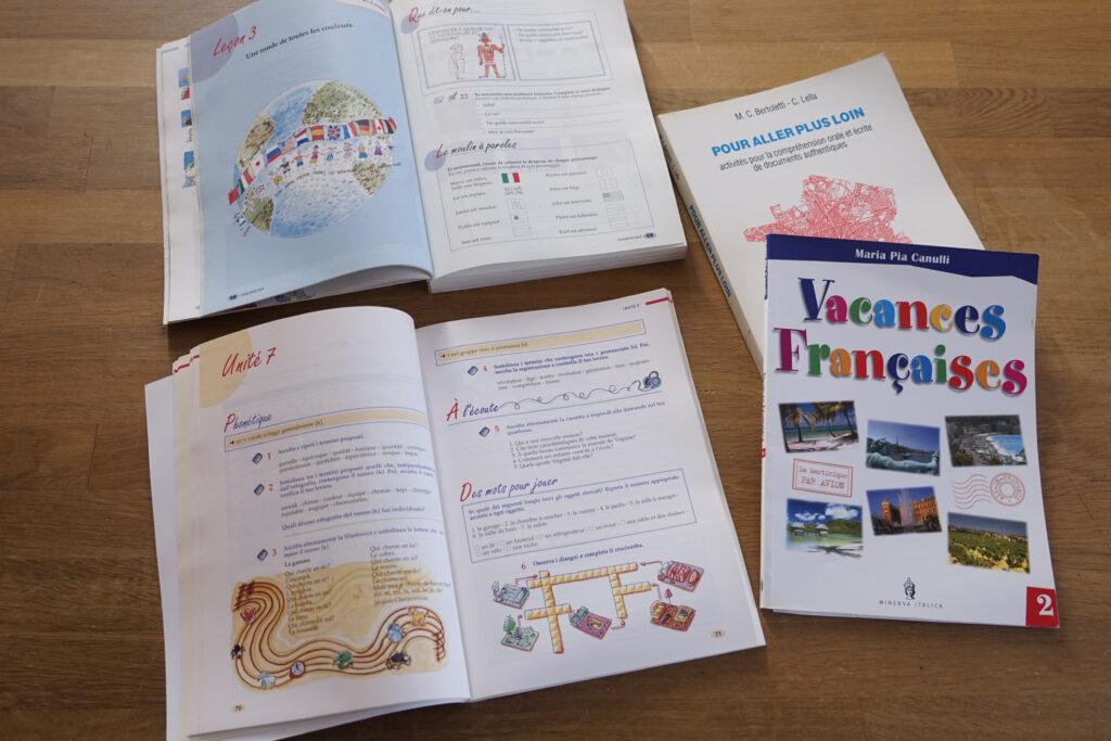 volumi di francese - impaginazione