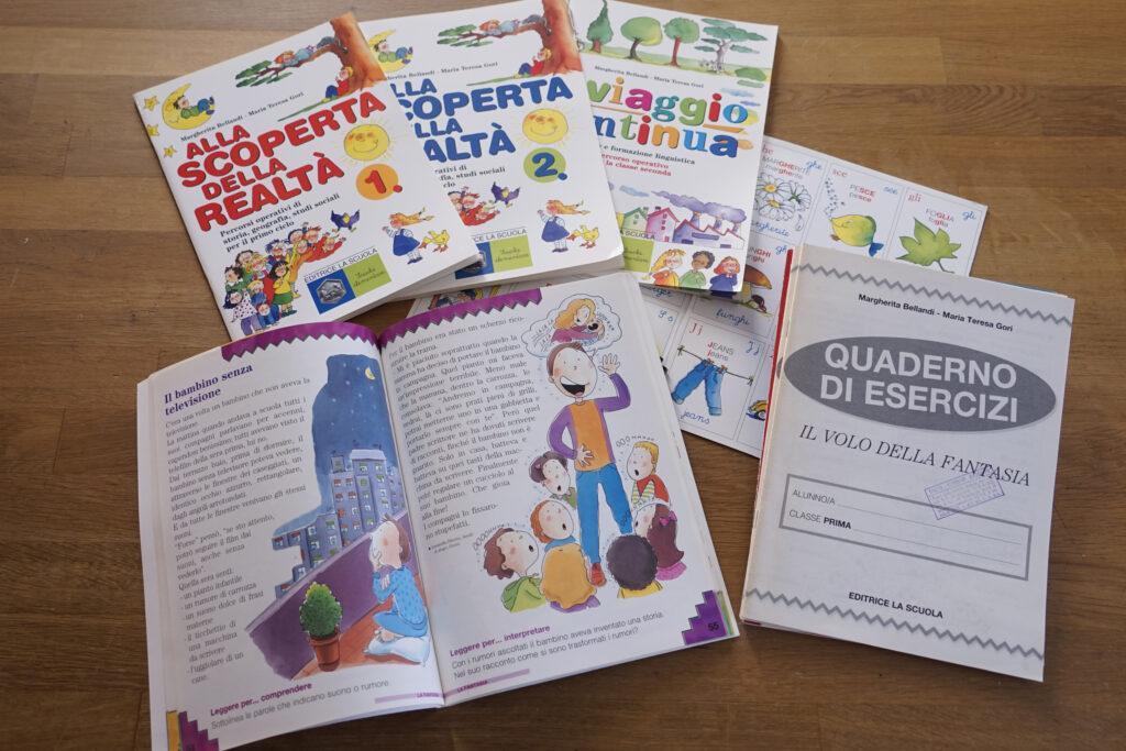 volumi per la scuola primaria - impaginazione
