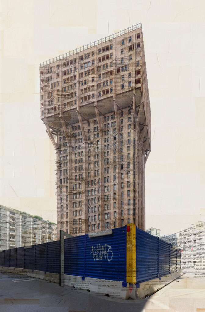 Milano, Angolo blu, 160x105 cm, 2017