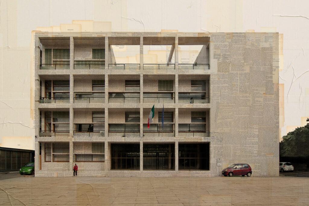 Como, Ex Casa del fascio, 100x150 cm