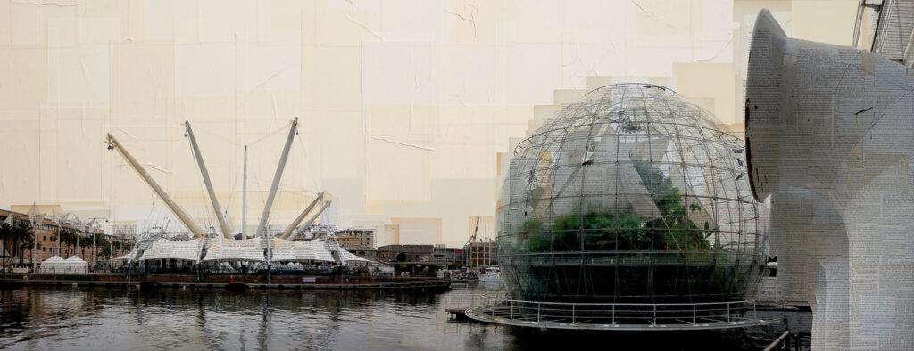 I soffiatori di bolle, 75x195 cm