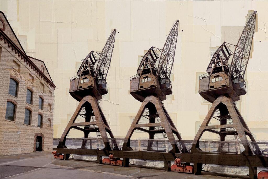 Genova, I tre fratelli, 100x150 cm