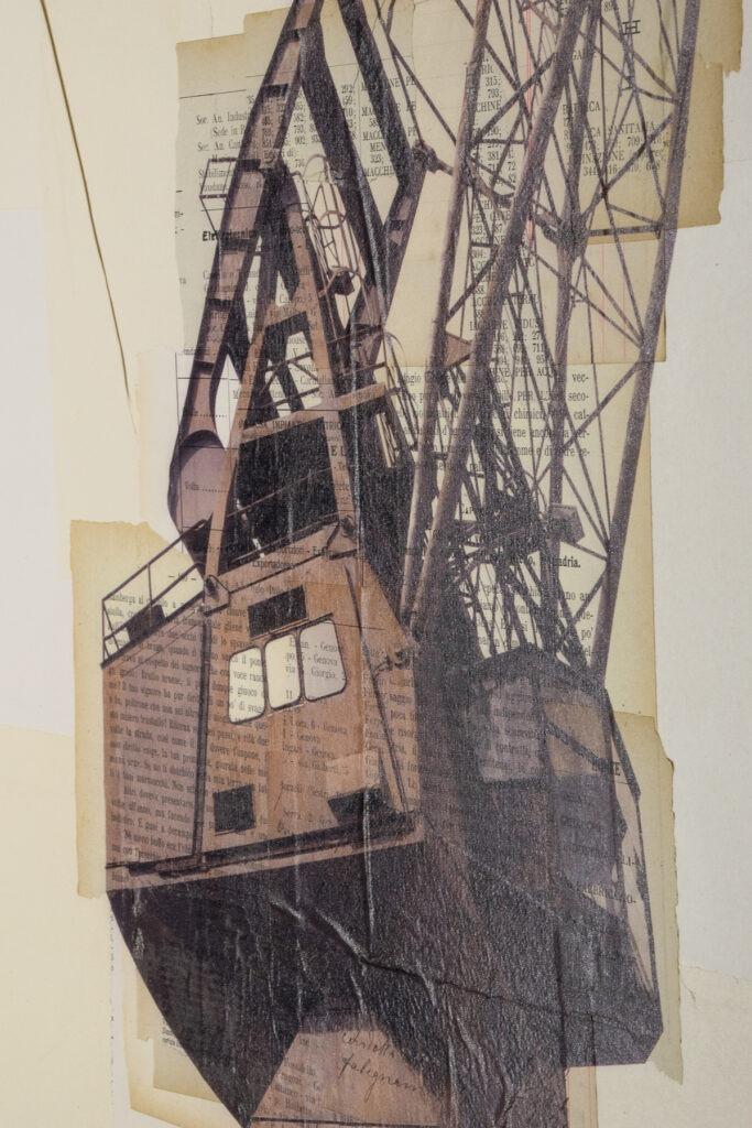 Genova, I tre fratelli - dettaglio, 100x150 cm