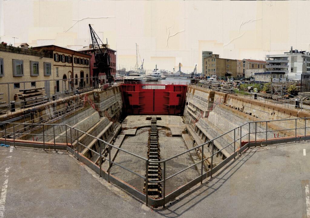 Il Cuore del porto, 105x150 cm