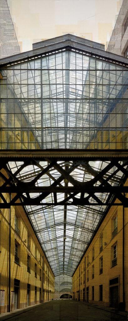 Tramaglio architettonico, 200x80 cm