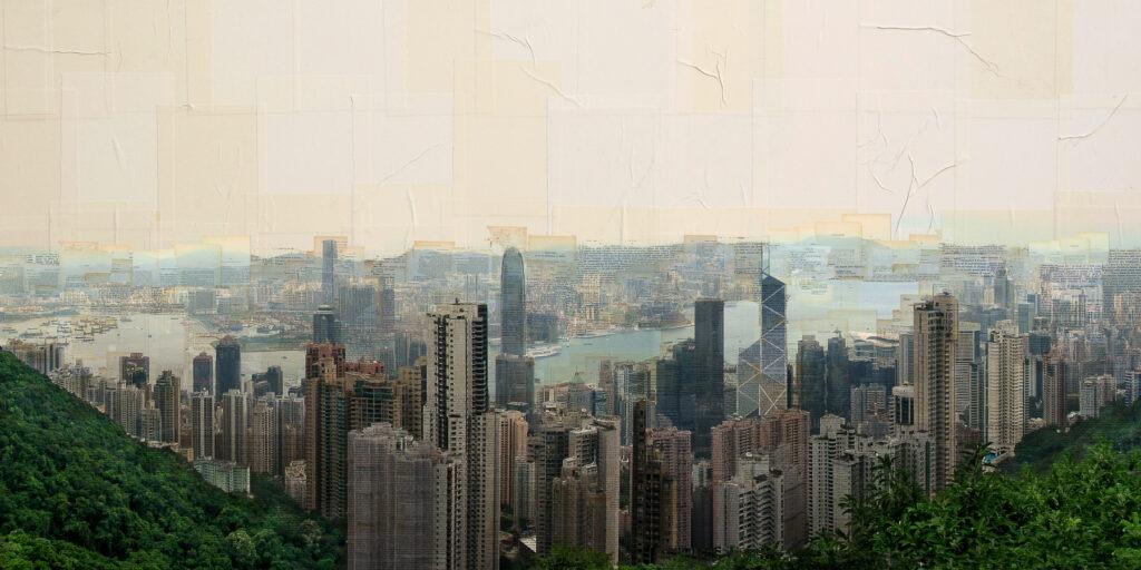 Hong Kong, Accumulo, 100x200 cm