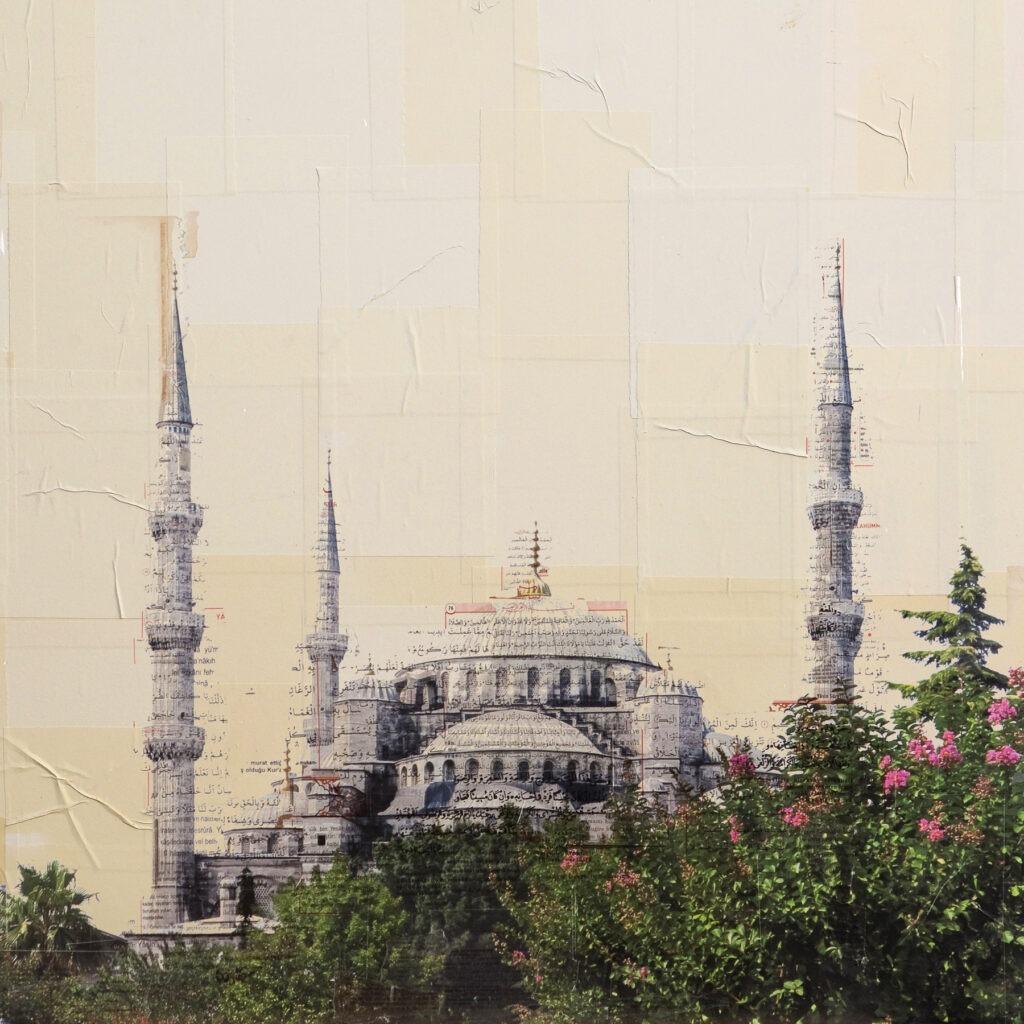 Istanbul, Santa Sofia, 80x80 cm