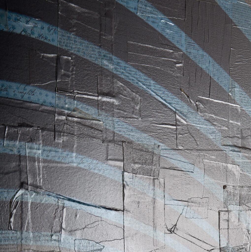 Londra, Fra parentesi - dettaglio, 140x130 cm