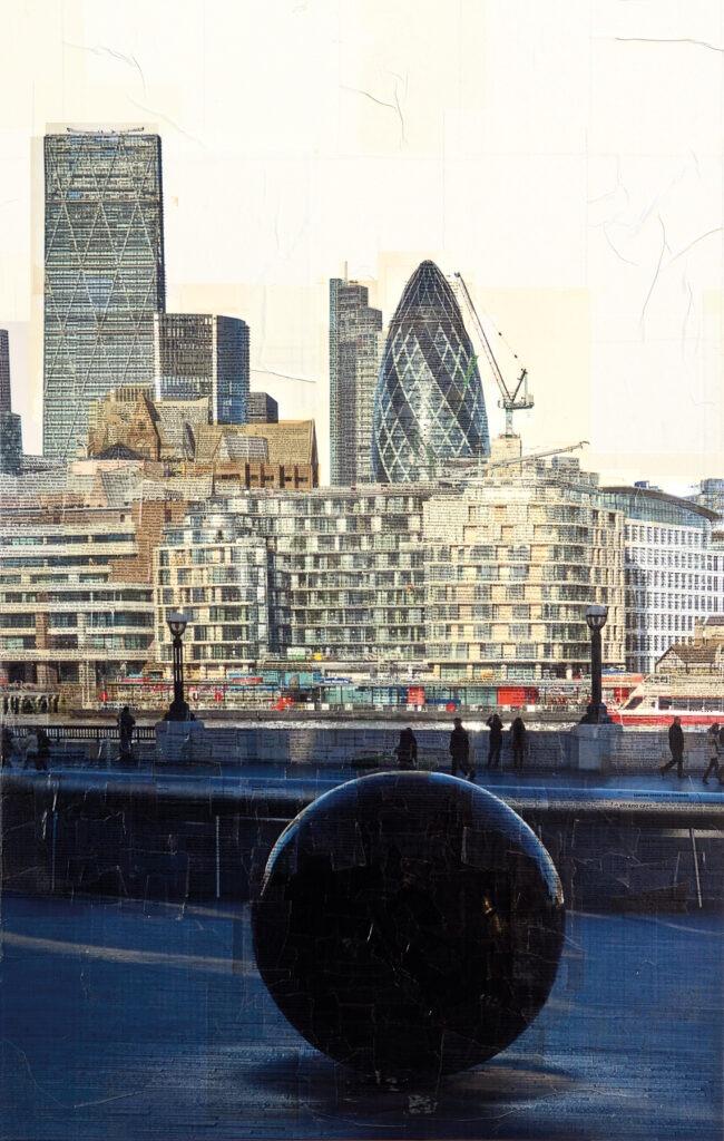 Londra, Giochiamo, 150x90 cm