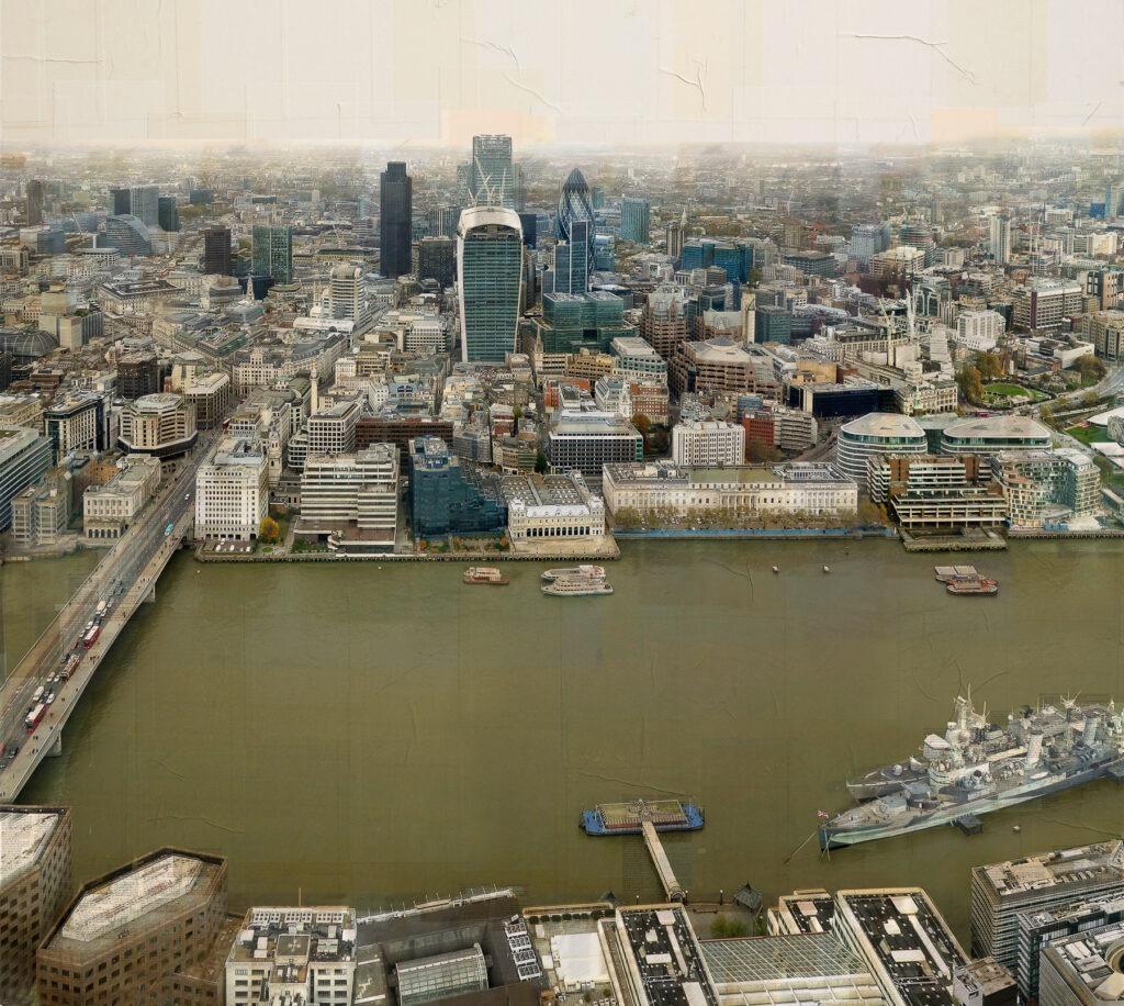 Londra, Gli Emergenti #2, 150x160 cm