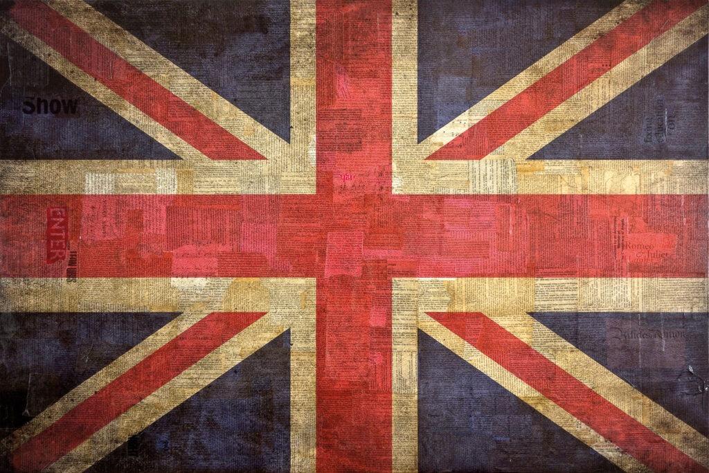 Union Jack, 80x120 cm