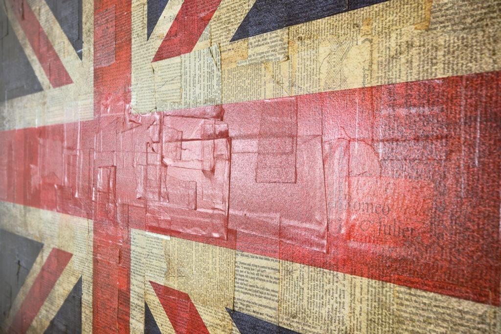 Union Jack - dettaglio, 80x120 cm