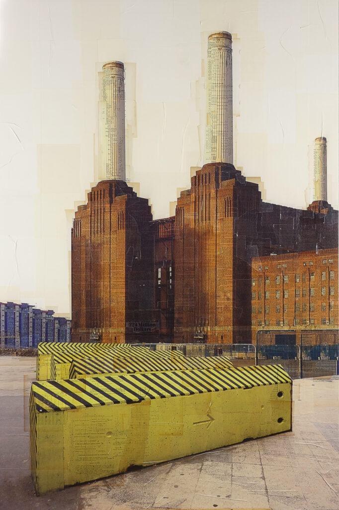 Londra, Ai blocchi di ripartenza, 160x115 cm