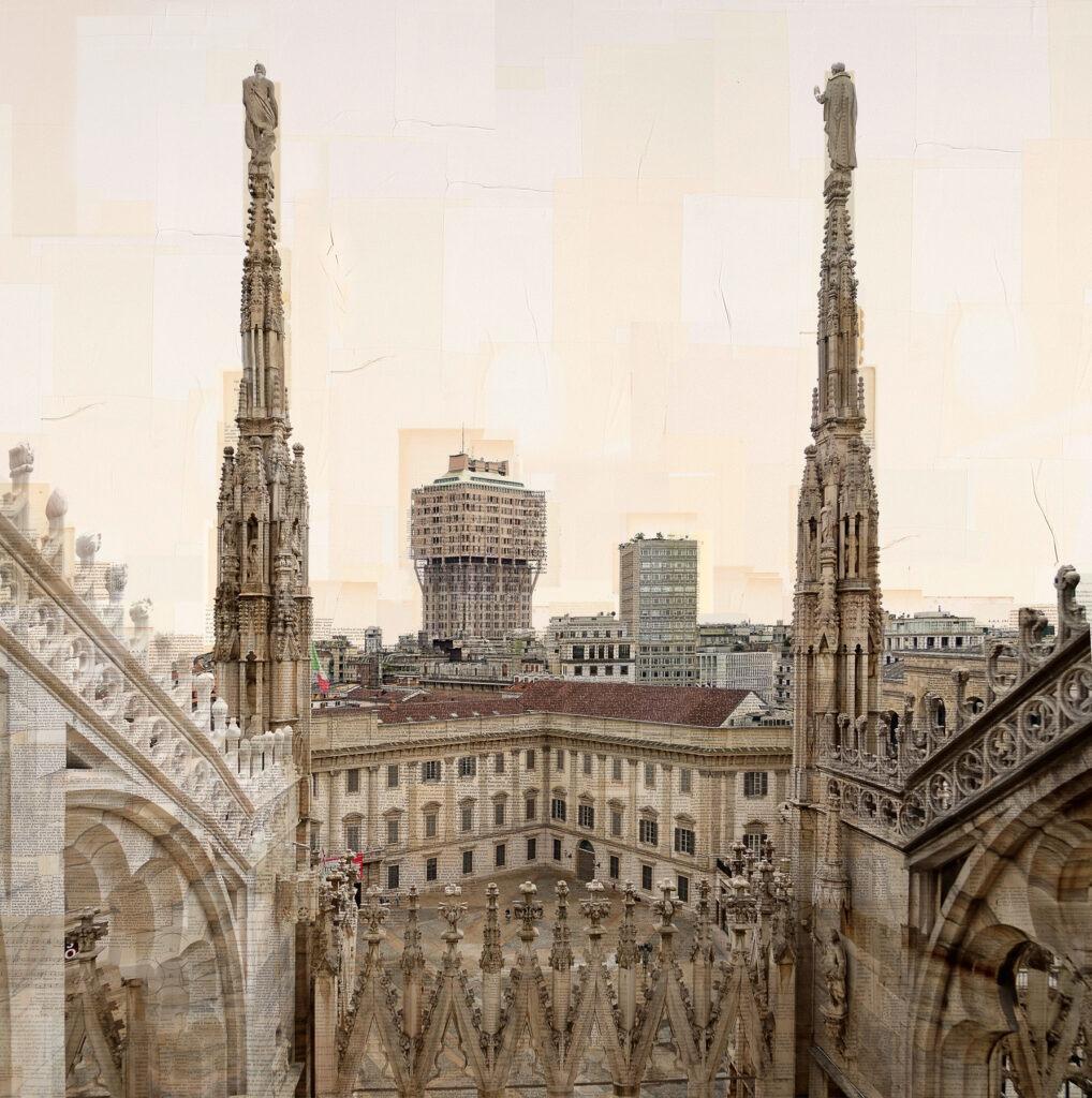 Milano, Doppiacoppia, 150x150 cm