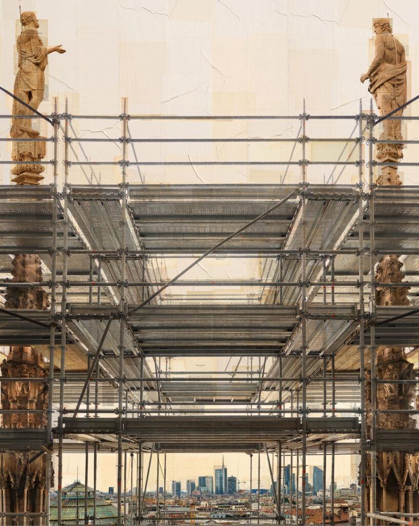 Milano, I pianificatori, 150x120 cm