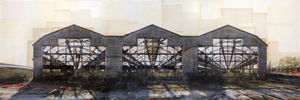 Milano-Lambrate, Ex Innocenti, 60x180 cm