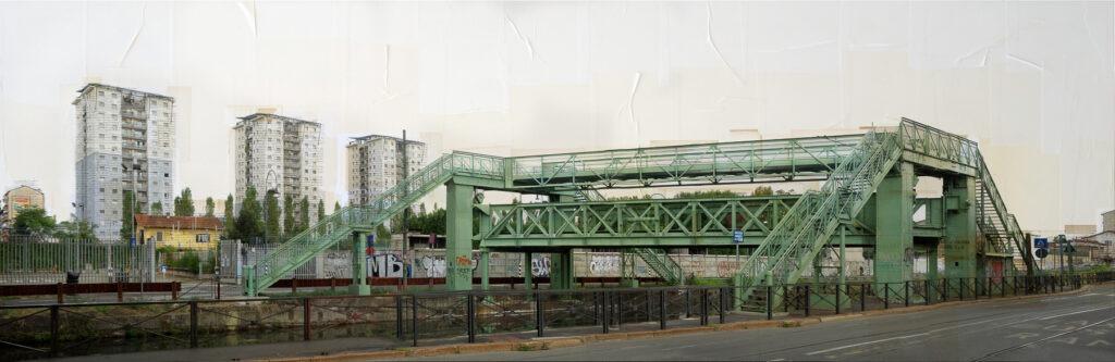Milano, Ponte Ex Richar-Ginori, 45x180 cm