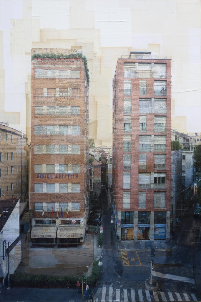 Milano, Via Torino, 120x80 cm