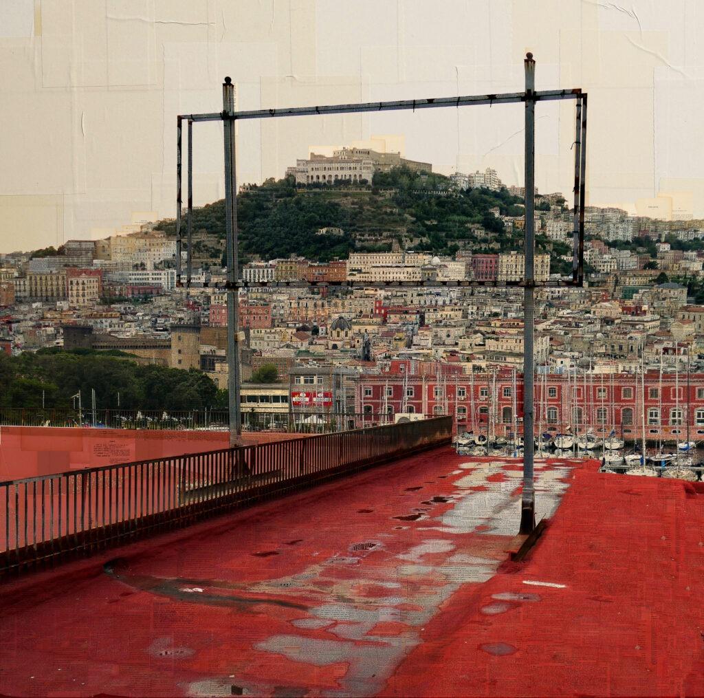 Napoli, Cinemascope, 120x120 cm