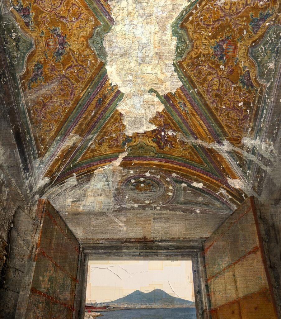 Napoli, Fossili di energie antiche, 140x120 cm