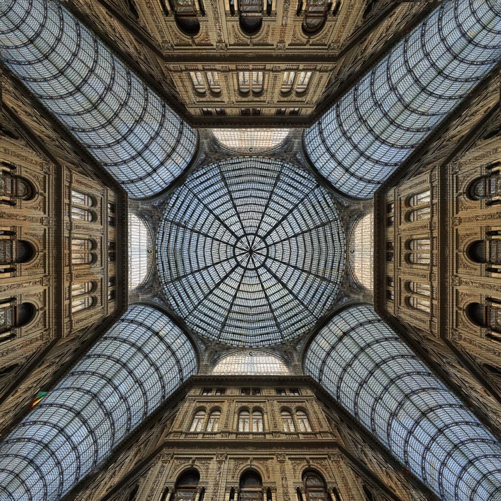Napoli, Stella del Sud, 150x150 cm