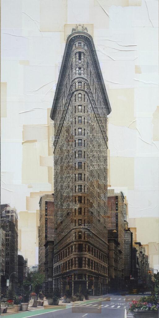 New York, Flat Iron, 150x70 cm