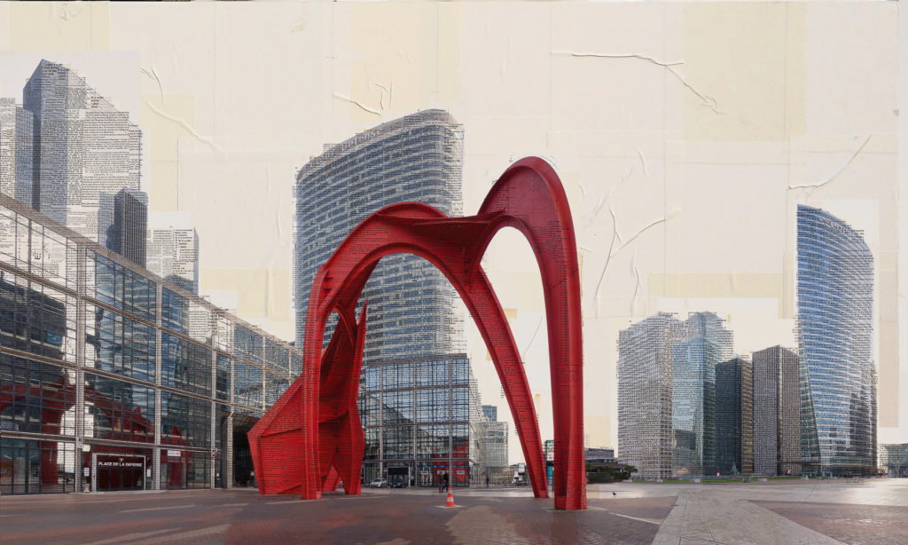 Coeur Dèfense, 90x150 cm