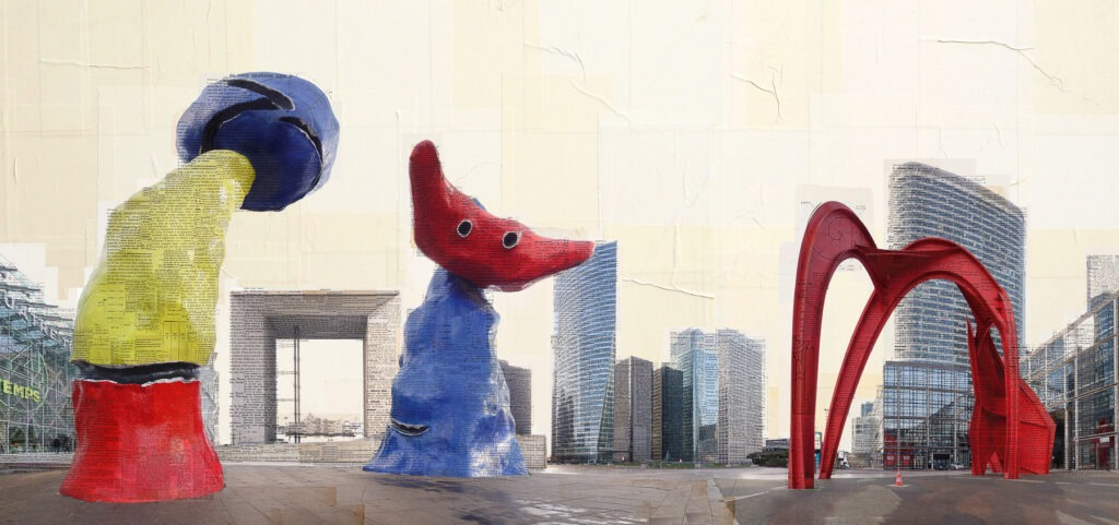 I teatranti urbani, 95x200 cm