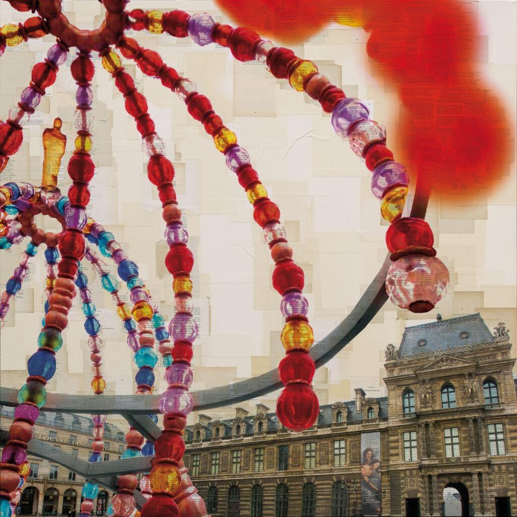 Parigi, Il corteggiamento, 130x130 cm, euro 4.160
