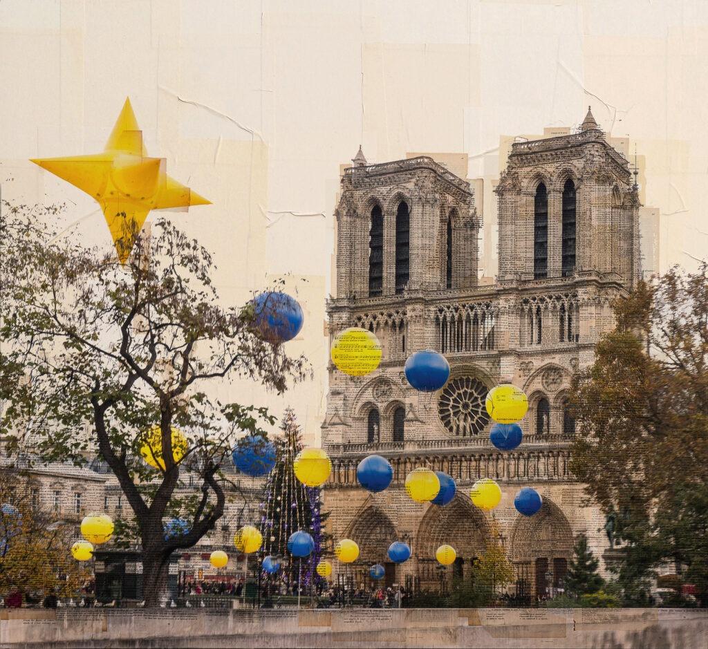 Parigi, Isola di stelle, 110x120 cm