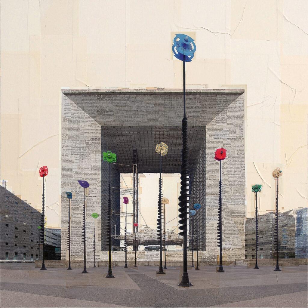 Parigi, La boite a Joujoux, 150x150 cm