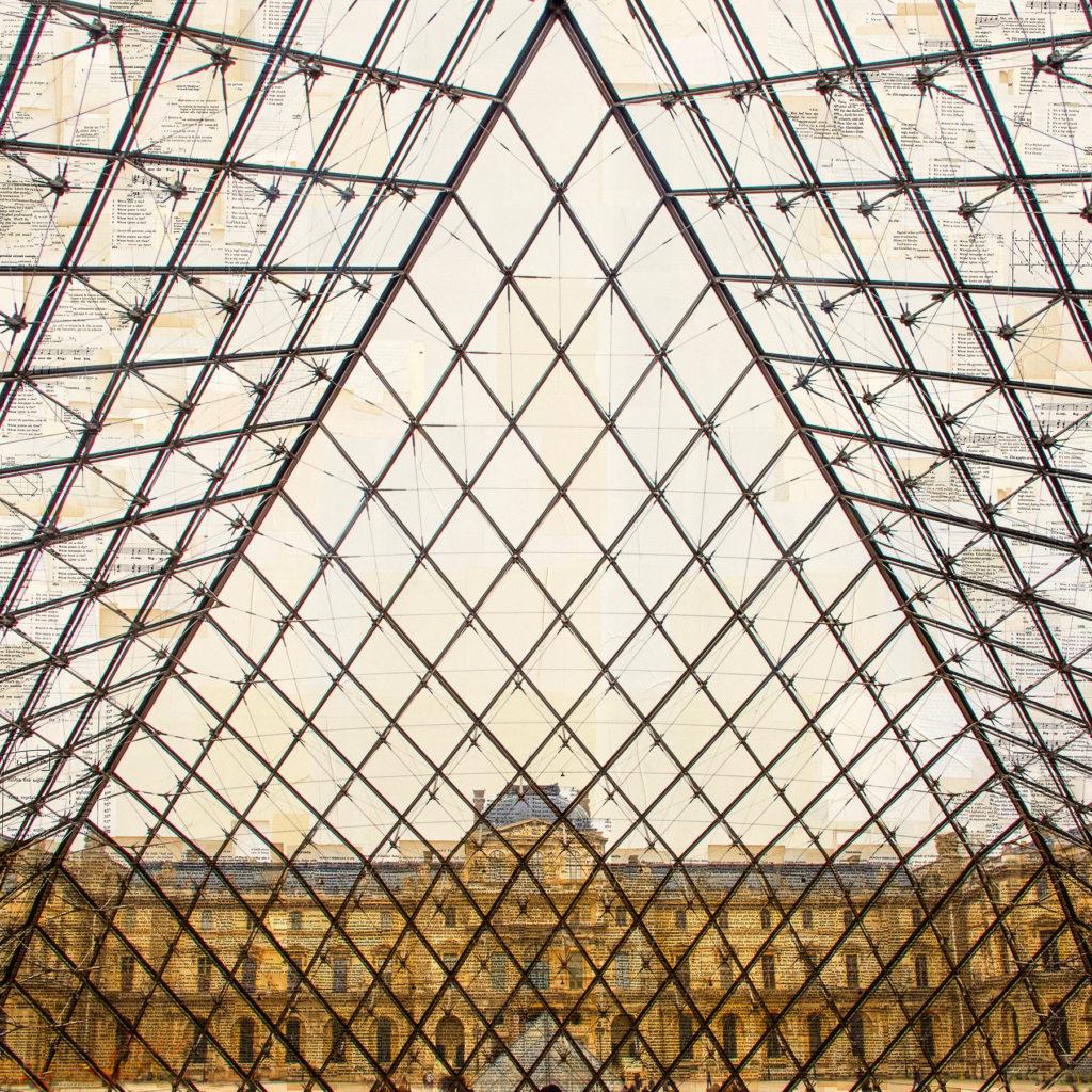 Parigi, La volière, 130x130 cm