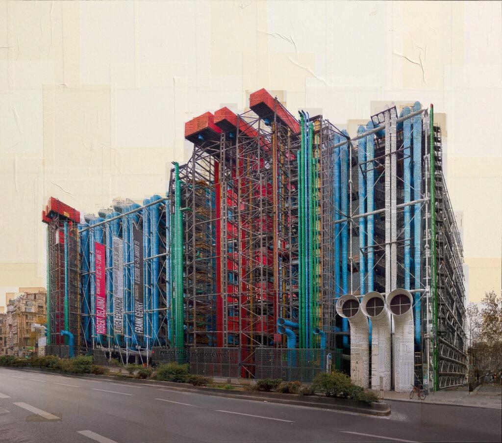 Parigi, Organo architettonico, 150x170 cm
