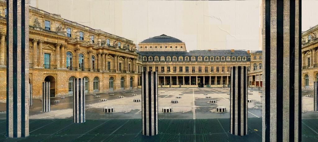 Parigi, Stalagmiti reali, 85x190 cm, 4.900 euro