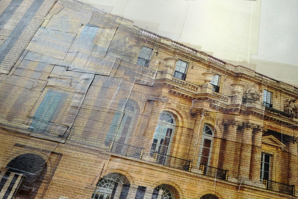 Parigi, Stalagmiti reali, details