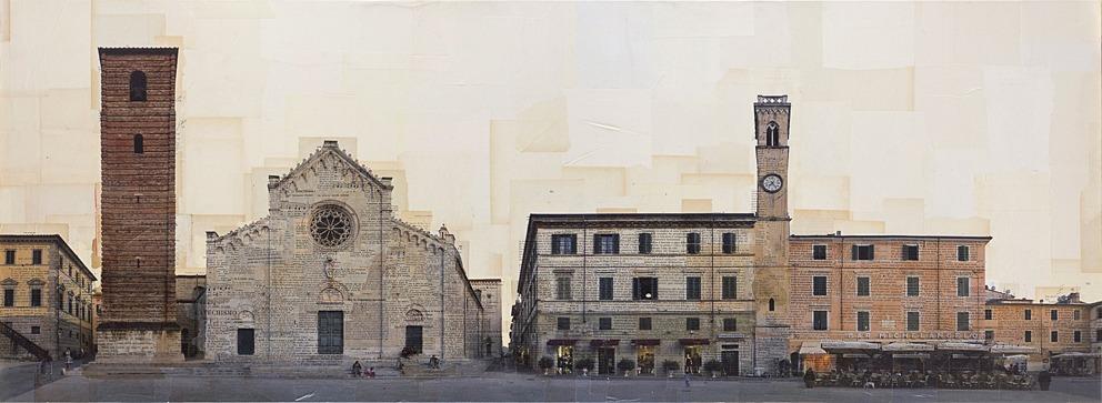 Pietrasanta, Piazza Duomo, 60x200 cm