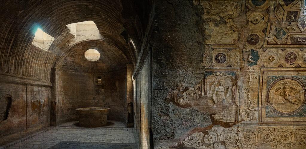 Pompei, Gli estremi della vita, 80x160 cm