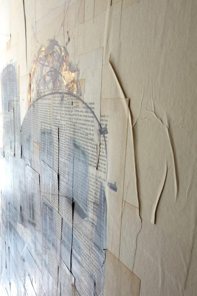 Praga, Ginger and Frred - dettaglio, 150x100 cm