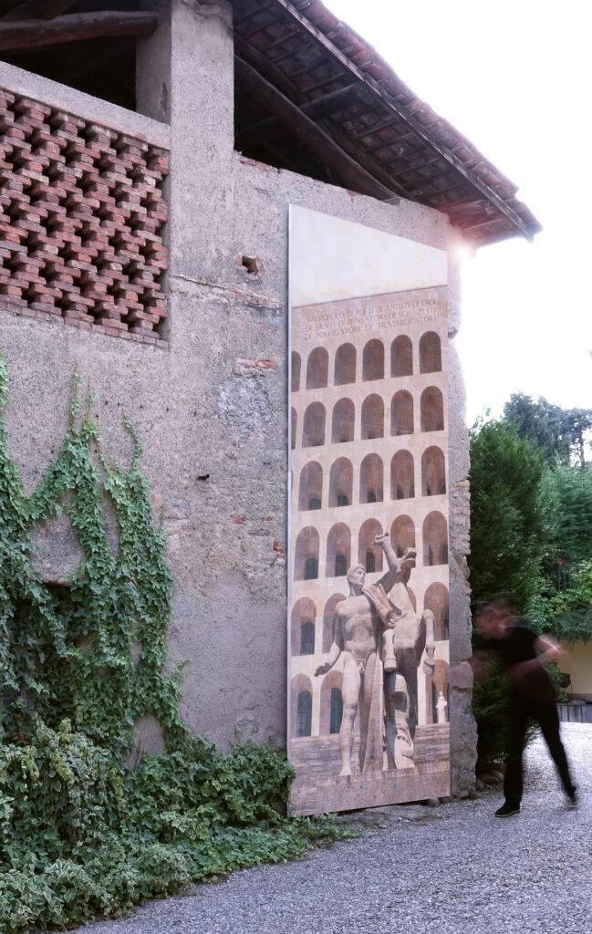 Roma, Prototipo d'eroe, 480x150 cm