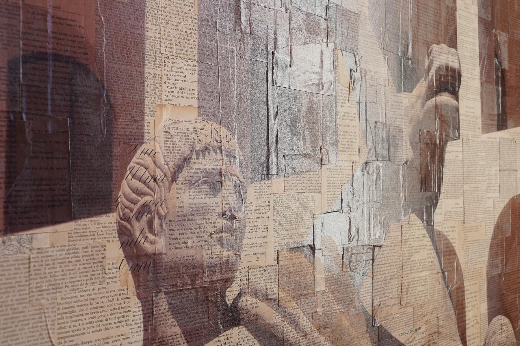 Roma, Prototipo d'eroe - dettaglio, 480x150 cm