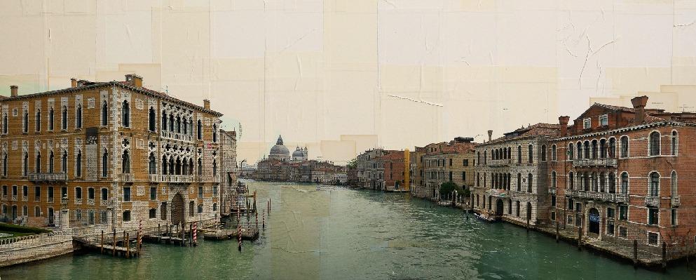Venezia, In attesa, 90x220 cm