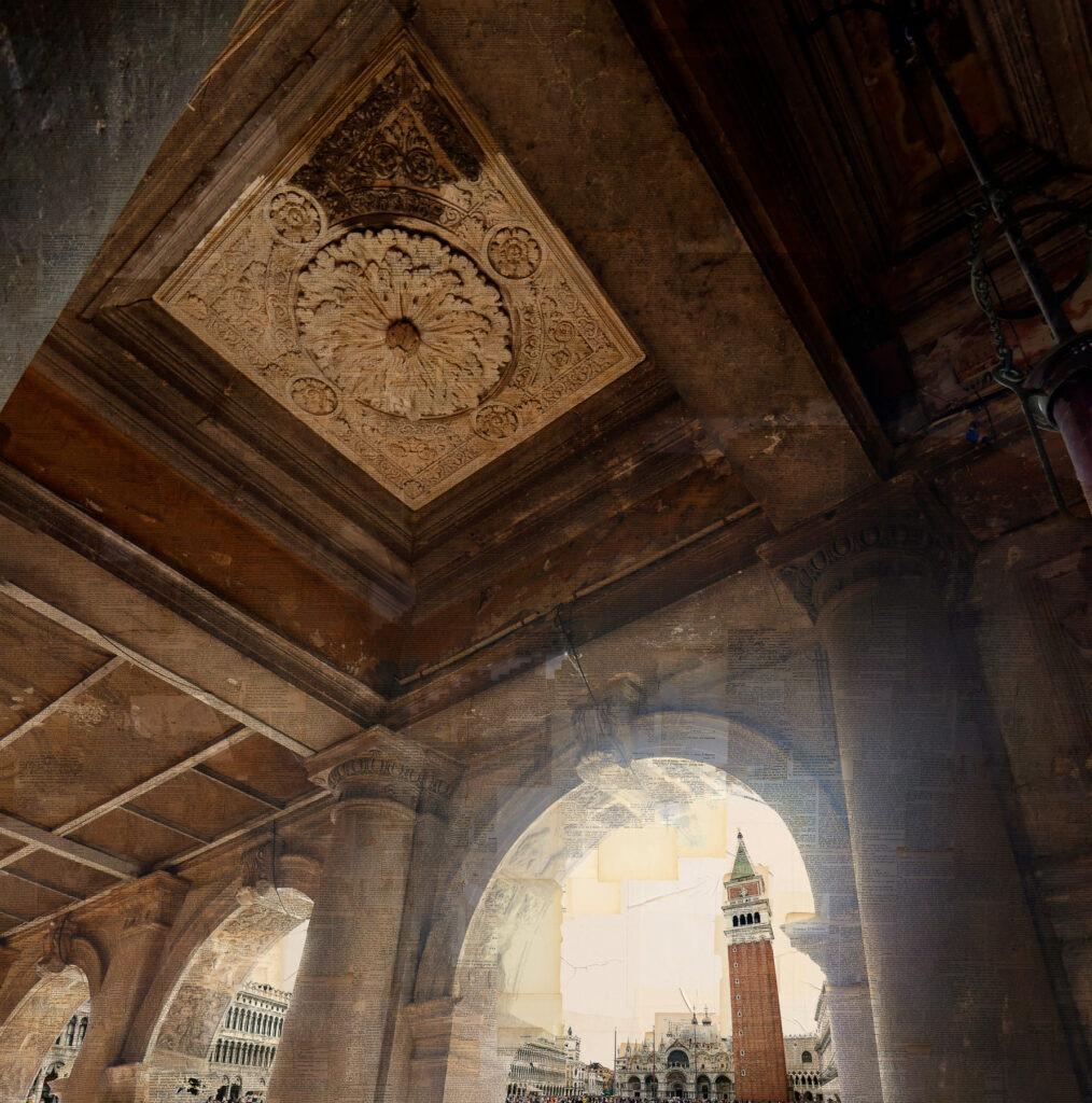 San Marco Sun, 150x150 cm