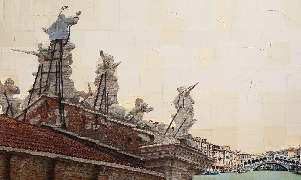 Quinte veneziane, 70x110 cm