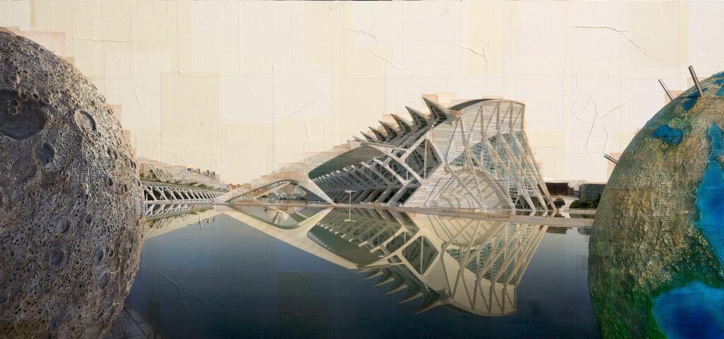Valencia, Sfuggite al custode, 80x170 cm