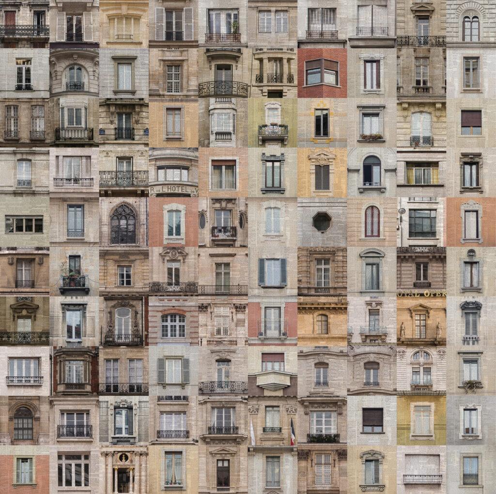 Parigi, Rue SImon de Crubellier n11, 200x200 cm