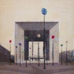 Parigi, La boîte à joujoux, 150x150 cm
