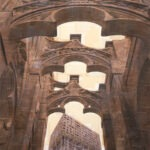 Milano, Carola marmorea per giovane architettura, 160x120 cm
