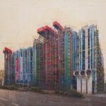 Parigi, L'organo architettonico, 150x160 cm
