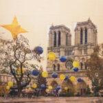 Parigi, L'isola di stelle, 110x120 cm
